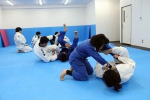 総合格闘技ジムの柔術クラス