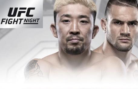 UFCファイトナイト142 アデレード  廣田瑞人vs クリストス・ジアゴス